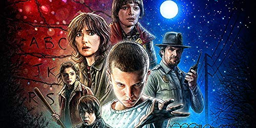 Winona Ryder Winona Ryder Millie Bobby Brown Stranger Things Poster imprimé 30,5 x 45,7 cm (Multicolore)