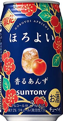 【限定】 サントリー ほろよい 香るあんず [ チューハイ 350mlx24本 ]