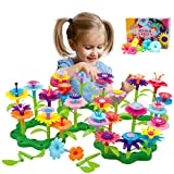 Byserten Gifts for 3-6 Year Old Girls Flower Garden Building Set 98 PCS Arts and Crafts for Girls 11...
