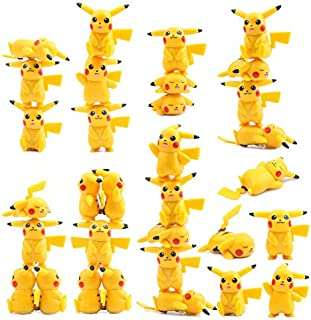 WOIA 5 Pcs /Lot Hot New Tsum Tsum Toys Mini Pocket Monster Cute Action Figures Home Decor Toys for Children Vinyl Dolls -Multicolor Complete Series Merchandise