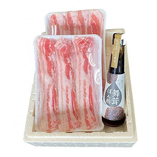 生商 黒龍吟醸豚しゃぶしゃぶセット -クール冷凍-