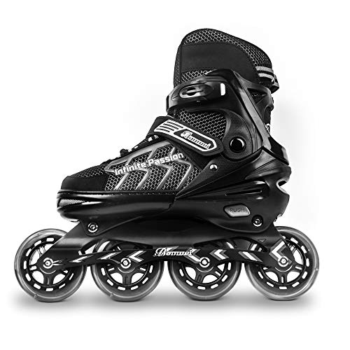 MammyGol Adjustable Inline Skates for Adults and Teen