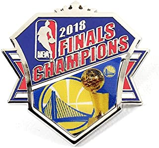 aminco Golden State Warriors 2018 NBA Champions Crown Pin