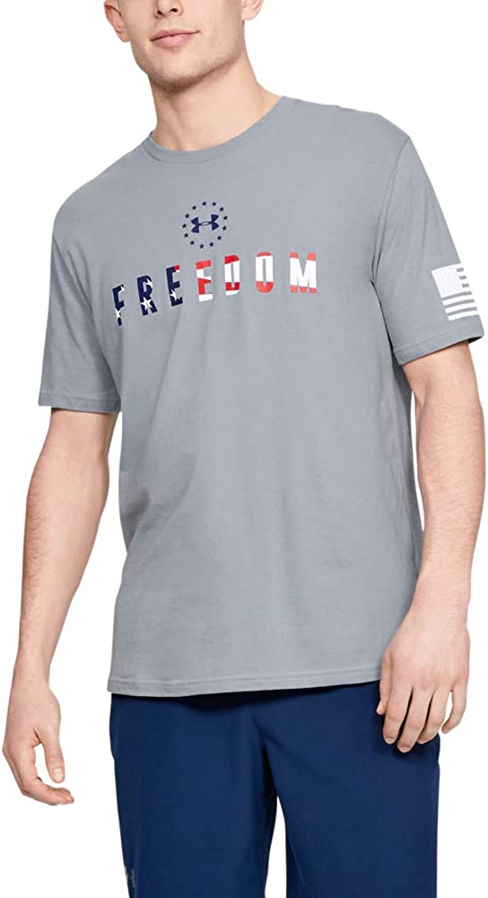 Under Armour Men's Chest Max 45% OFF Freedom Outstanding T-Shirt
