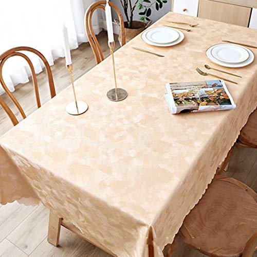 YOUYUANF tischdecke Garten abwaschbarHaushaltstischdecke Tischdecke Tischdecke kann gewaschen Werden, wasserdicht und Antifouling-Effekt ist gut120 x 155cm