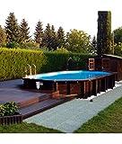 PISCINE ITALIA Piscina fuoriterra in Legno Jardin 727