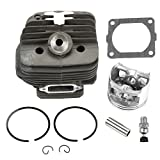 Harbot New Pack of 54mm Cylinder Piston Kits with Gasket Decompression Valve for Stihl Ms660 MS 660...