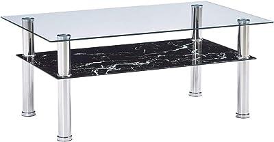 Adec - Universal, Mesa de Centro elevable de Cristal Templado y ...