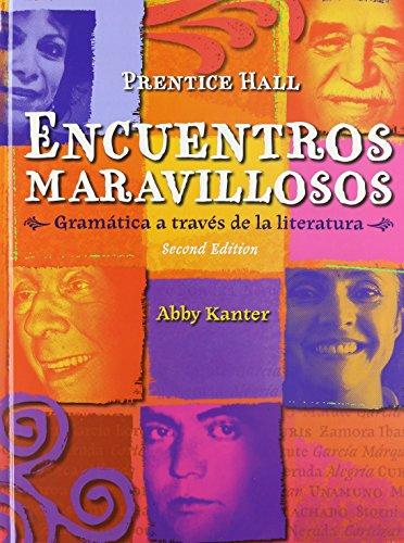 Price comparison product image ENCUENTROS MARAVILLOSO GRAMATICA STUDENT EDITION (HARDCOVER)