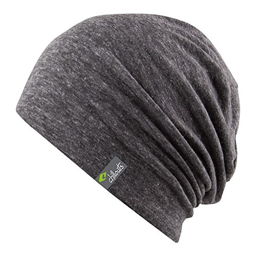 chillouts Beanie, Anthrazit, One-size-fitts-all