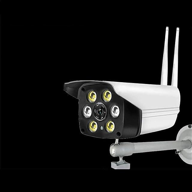 WEATLY Inalámbrico de vigilancia al Aire Libre de la cámara casera Impermeable móvil Monitor Remoto de la cámara IP a Todo Color de Alta definición (Size : Line)