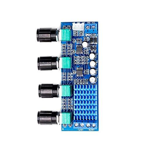 CAIJINJIN Módulo Tono TPA3116D2 Audio de Alta Potencia Amplificadores Operacionales DC 12-24V de Dos Canales estéreo de 2 x 80W Tablero del Amplificador Digital
