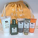 Origins Skincare Gift Set: Cleanser, Toner, Mask, Serum & Moisturizer