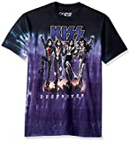 Liquid Blue Men's Kiss Destroyer Short Sleeve T-Shirt,Multi,Medium