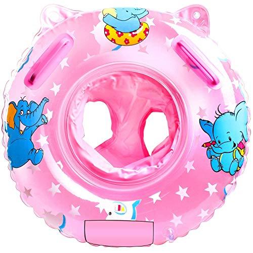 Baby Schwimmring, Baby Schwimmen Ring, Baby Schwimmhilfe, Baby Schwimmhilfen mit Schwimmsitz PVC für Kleinkind 6 Monate bis 48 Monat