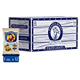 Pirate's Booty Aged White Cheddar Cheese Puffs 12ct, 1oz Snack Size Bags, Gluten Free, Cheese Snacks, Healthy Snacks