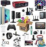 Mystery Box Electronics Mystery Boxes Cumpleaños aleatorio Caja de sorpresa Caja de suerte para adultos Sorpresa Regalo, como Drones Smart Watches Gamepads y más Super CeleFfective Random Style Heartb