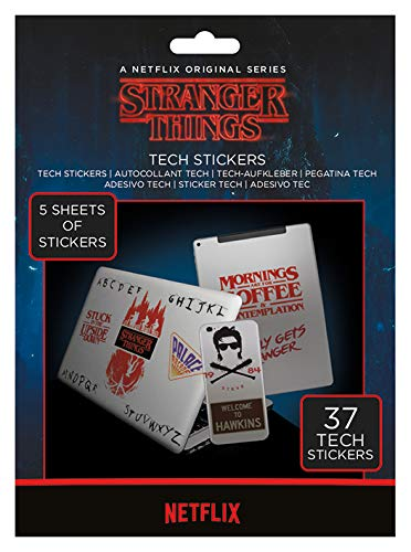 Stranger Things Set of 37 Tech Stickers