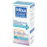 Mixa Expert Peau Sensible -Hydratant Teinté Protecteur Anti-Imperfections Dermo Defense - 50 ml - Lot de 2
