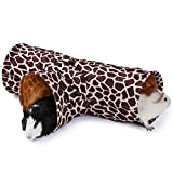 JanYoo Smal Pet Tunnel Guinea Pig Toys Ferret Play Tunnels Tubes for Rabbits Hedgehog Rat Chinchillas