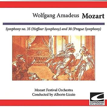 Wolfgang Amadeus Mozart: Symphony no. 35 (Haffner Symphony) and 38 (Prague Symphony)