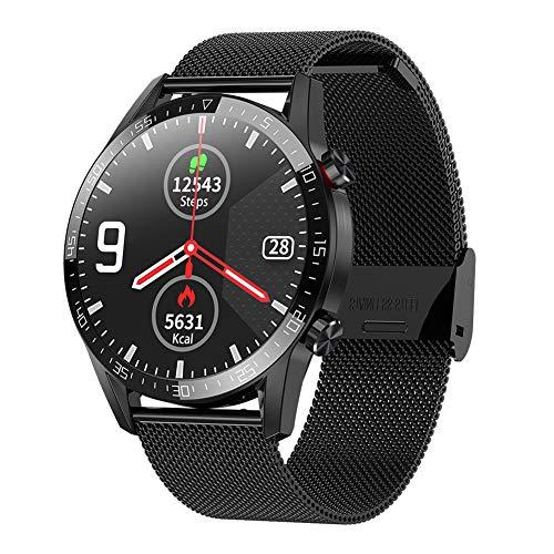Padgene Smartwatch Deportivo, Reloj Inteligente Impermeable IP68, Pulsera de Actividad con Monitor de Sueño, Ritmo Cardíaco, Podómetro, Llamadas Bluetooth, Notificación de Mensaje para Android e iOS