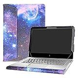 """Alapmk Specialmente Progettato PU Custodia Protettiva in Pelle per 13.3"""" HP Envy 13 13-abXXX 13-dXXX Series Notebook (Non compatibili con: Envy 13 13-ahXXX 13-adXXX 13-1000 Series),Galaxy"""