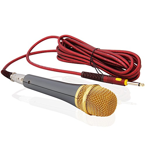 Anykey ANK-78 Cardioid Dynamic Vocal Microphone with 19.7 Ft Xlr-to-1/4 Cable