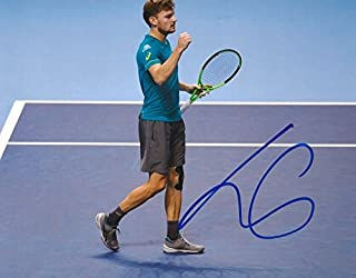 TOP TENNIS PLAYER David Goffin autograph, IP signed photo