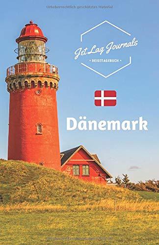 JetLagJournals • Reisetagebuch Dänemark: Erinnerungsbuch zum Ausfüllen | Reisetagebuch zum Selberschreiben | Notizbuch Dänemark