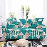 Funda Sofas 2 y 3 Plazas Verde Pistacho Fundas para Sofa con Diseño Elegante ,Cubre Sofa Ajustables,Fundas Sofa Elasticas,Funda de Sofa Chaise Longue,Protector Cubierta para Sofá