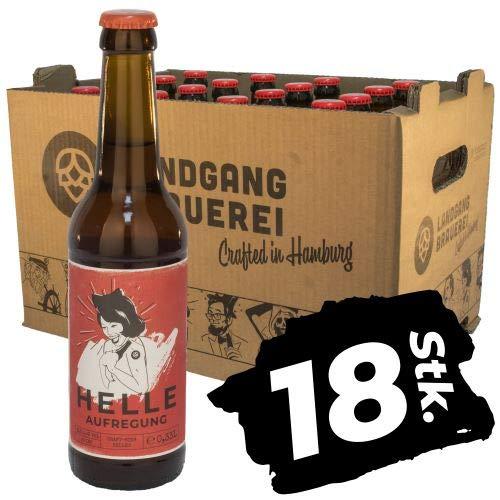 Landgang Brauerei - Helle Aufregung - 18er Karton (18 x 0,33l) - 5,0%