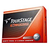 BRIDGESTONE(ブリヂストン) ゴルフボール TOURSTAGE エクストラディスタンス 1ダース( 12個入り) オレンジ TEOX