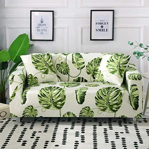 ZWL Gedruckt Stretch Sofabezüge Möbel Protector Arm Chair Cover Für Wohnzimmer Polyester Couch Cover,J,2 seat 145-185cm