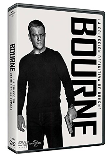 Pack 5 Películas: Jason Bourne [DVD]