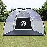 Golf Cage Practice Net Training Indoor Outdoor Sport Golf Exercise Equipment Garden Trainer