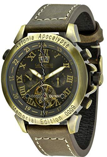 Calvaneo 1583 Astonia 'Apocalypse Bronze' End of World 2012 Edition Automatikuhr