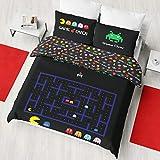 Juego de funda de edredón reversible para cama individual o doble., Varios Colores, Edredón doble