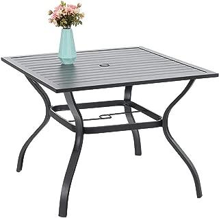 Best retro metal patio table Reviews