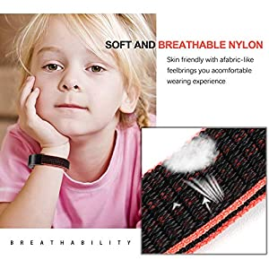 VEAQEE Compatible Alta Ace Nylon Bands, Soft Nylon Breathable Sport Wristbands for Women Man Kids Quick Release Replacement Wristband Accessories for Ace Alta HR Fitness Tracker
