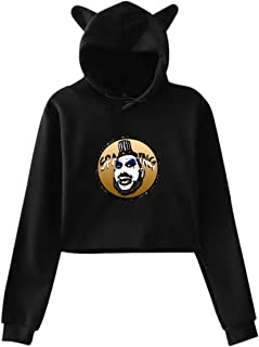 KJAHSLK Sweatshirts Captain Spaulding The Devils Rejects Womens Crop Top Hoodies
