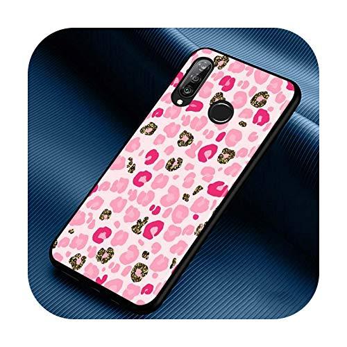 Phone cover Funda de silicona para Huawei P30 P20 P40 Lite E Pro P Smart Z Plus 2019 P10 P9 Lite, color negro, estilo 04 para Huawei P Smart Z