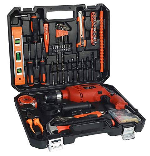 IBELL IBL TD13-100, 650W MS Professional Tool Kit (Red) -...