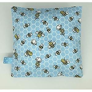 Kleines Schlafkissen Lavendel für Kinder,Kindergarten, Schlafhilfe, Nachtkissen,Kräuterkissen, Lavendelkissen, Geschenk…