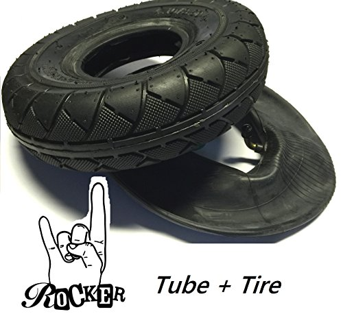 Rocker The Mini BMX repuesto Street V2 abrigo clásico neumáticos + manguera de repuesto con válvula de auto