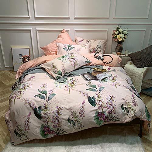 Yaonuli beddengoedset van katoen, 4-delig, 1,8 m2.0 zuig- en fijnslijping, poeder 1,5 m