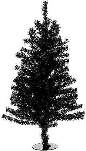 Kurt Adler 18' Black Mini Christmas Tree