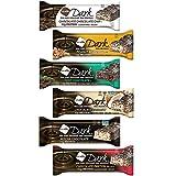 NuGo Dark Nutrition - Barras de coco para vegano, sin leche, sin GMO, 50 g, 6 unidades