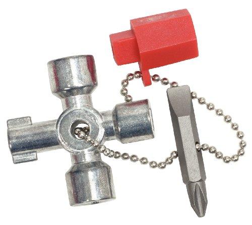 KS Tools 130.1010 Mini-Schaltschrankschlüssel, 42mm