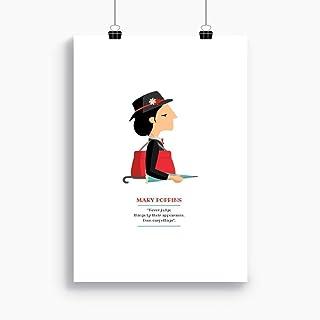 """Stampa"""" Mary Poppins"""". Disponibile in due misure: A4 / A3. Citazione inclusa dal film."""